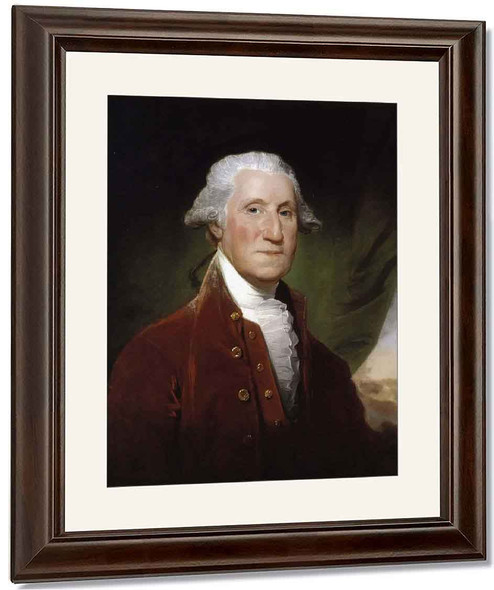 George Washington3 By Gilbert Stuart