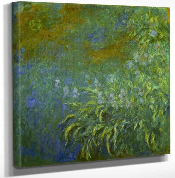 Iris By Claude Oscar Monet Art Reproduction