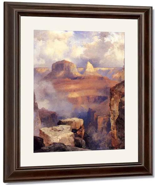 Grand Canyon By Thomas Moran By Thomas Moran