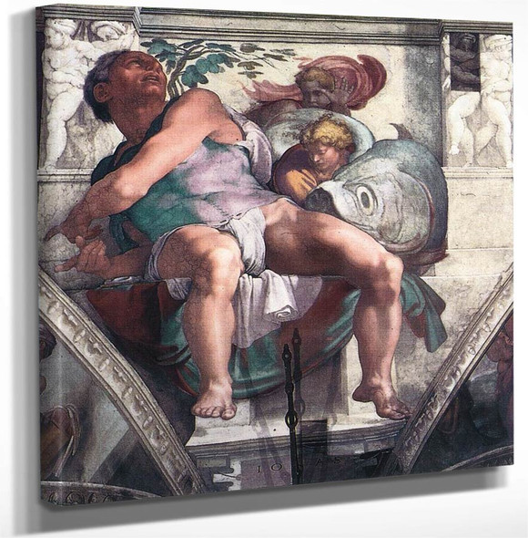 Jonah20 By Michelangelo Buonarroti Art Reproduction