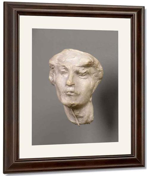Head Of A Woman By Auguste Rodin