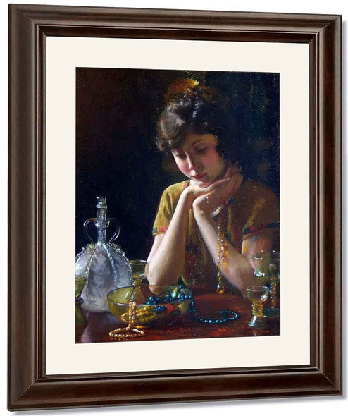 Heirlooms By Charles Courtney Curran By Charles Courtney Curran