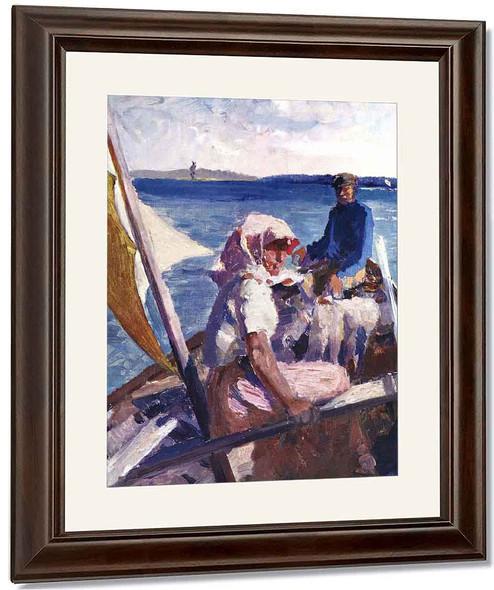 In The Sea By Albert Edelfelt
