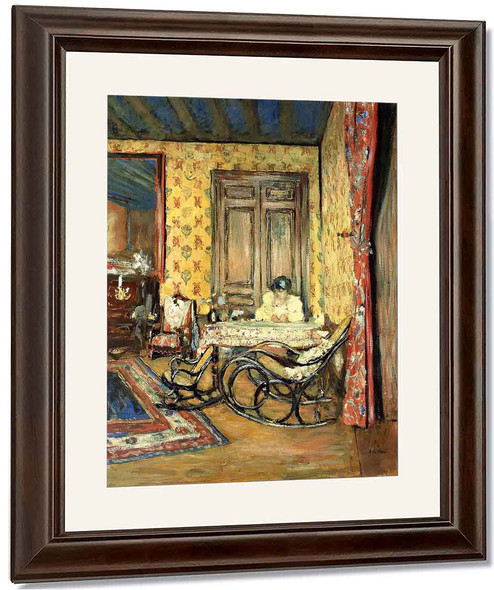 Interior With Rocking Chairs By Edouard Vuillard