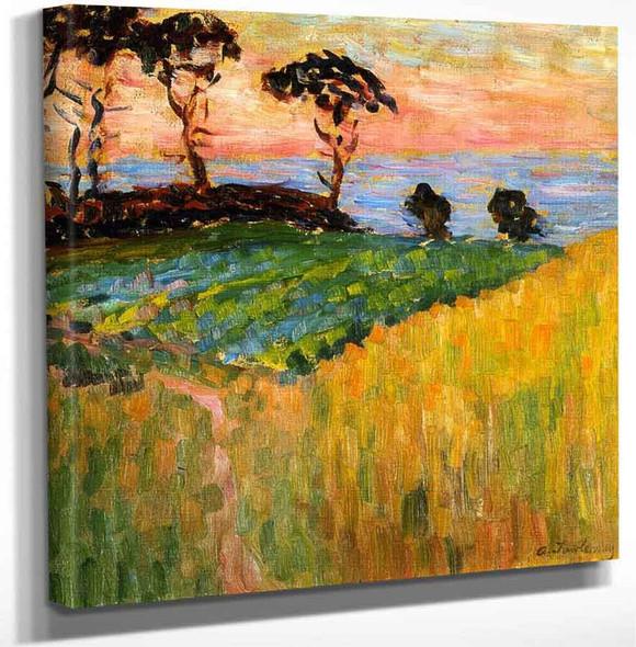 Landscape Near Marseille By Alexei Jawlensky Art Reproduction