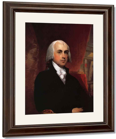 James Madison1 By Gilbert Stuart