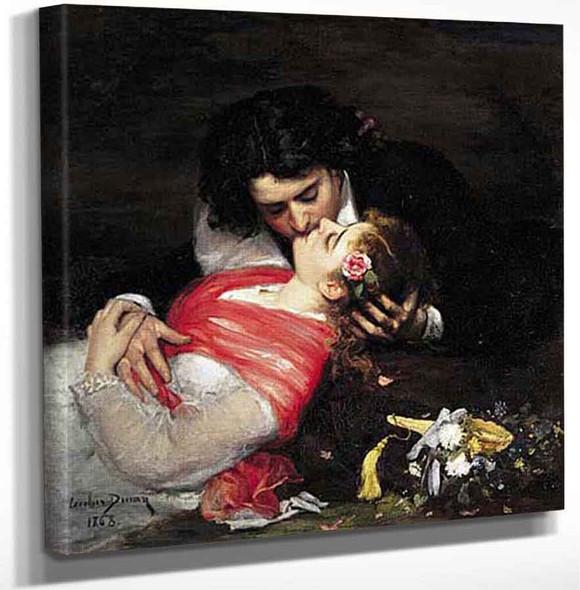 Le Baiser By Charles Auguste Emile Carolus Duran Art Reproduction