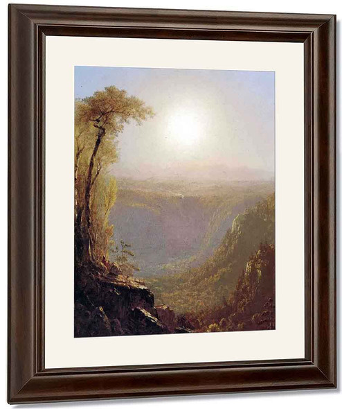 Kauterskill Clive, In The Catskills By Sanford Robinson Gifford By Sanford Robinson Gifford
