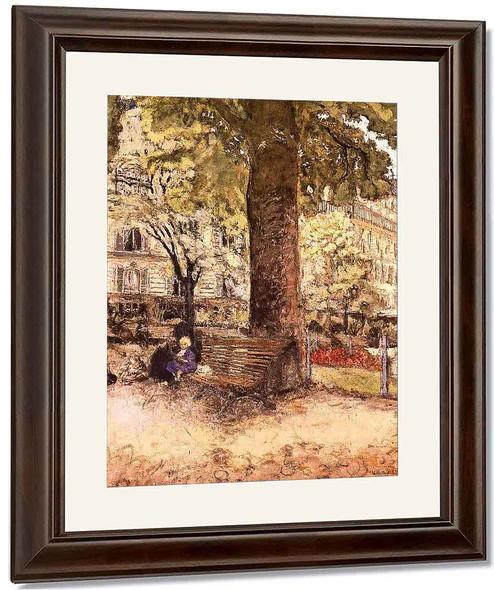 La Place Vintimille By Edouard Vuillard