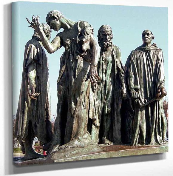 Les Bourgeois De Calais By Auguste Rodin Art Reproduction