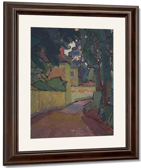 Lane, Gloucestershire By Harold Gilman