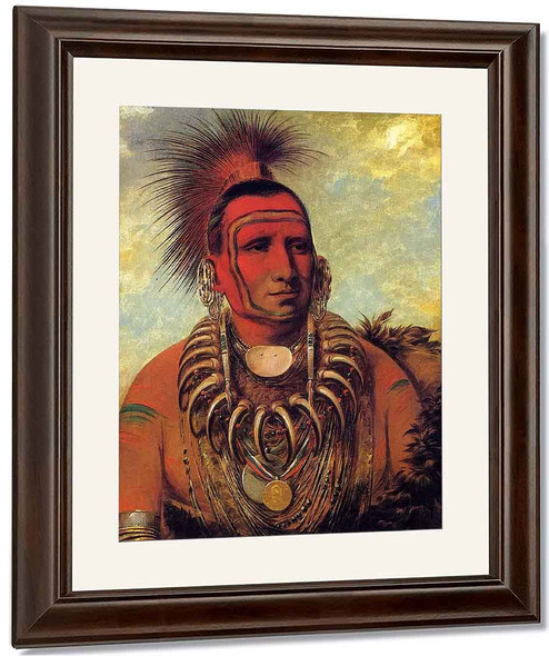 Little Wolf, A Famos Warrior By George Catlin By George Catlin
