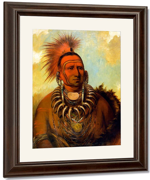 Little Wolf By George Catlin By George Catlin