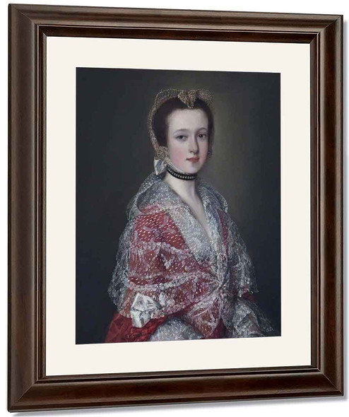 Louisa Barbarina Mansel, Lady Vernon By Thomas Gainsborough By Thomas Gainsborough