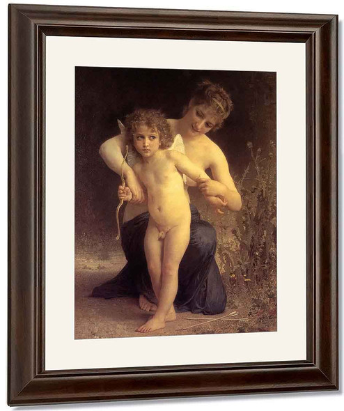 Love Disarmed By William Bouguereau By William Bouguereau