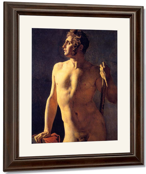 Male Torso By Jean Auguste Dominique Ingres By Jean Auguste Dominique Ingres