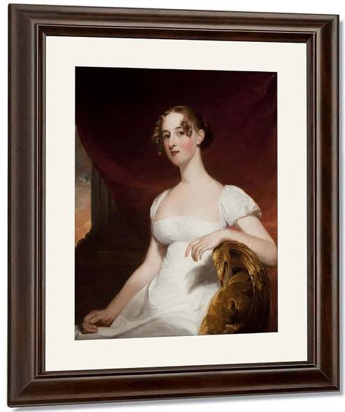 Margaret Siddons, Mrs. Benjamin Kintzing By Thomas Sully
