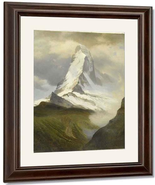 Matterhorn By Albert Bierstadt By Albert Bierstadt