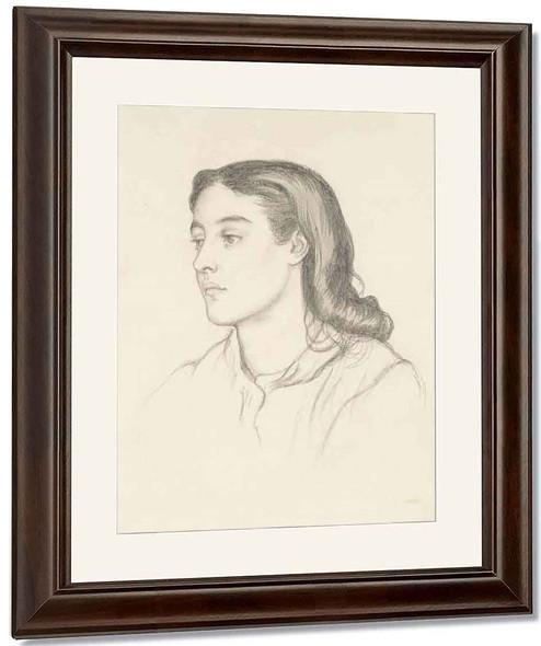 Miss Robinson By Dante Gabriel Rossetti