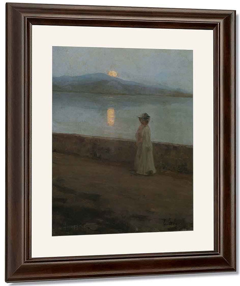 Moonlight On The Lake By Elin Kleopatra Danielson Gambogi By Elin Kleopatra Danielson Gambogi
