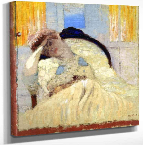 Misia Seated In An Armchair Affecting Nonchalance By Edouard Vuillard Art Reproduction