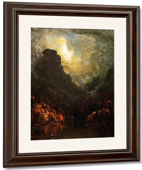 Mountain Lake By Sanford Robinson Gifford By Sanford Robinson Gifford