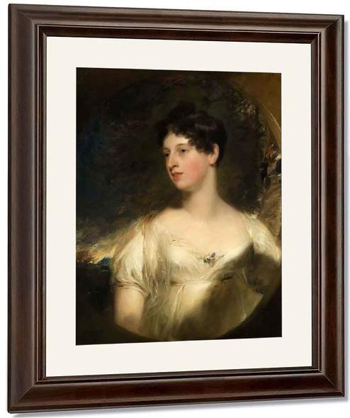 Mrs John Trower By Sir Thomas Lawrence