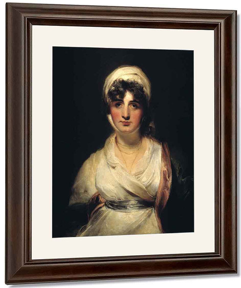 Mrs Siddons As Mrs Haller In 'The Stranger' By Sir Thomas Lawrence
