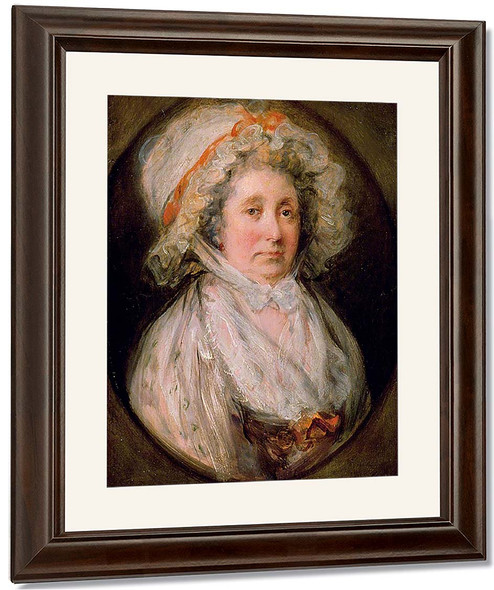 Mrs Thomas Gainsborough By Thomas Gainsborough By Thomas Gainsborough