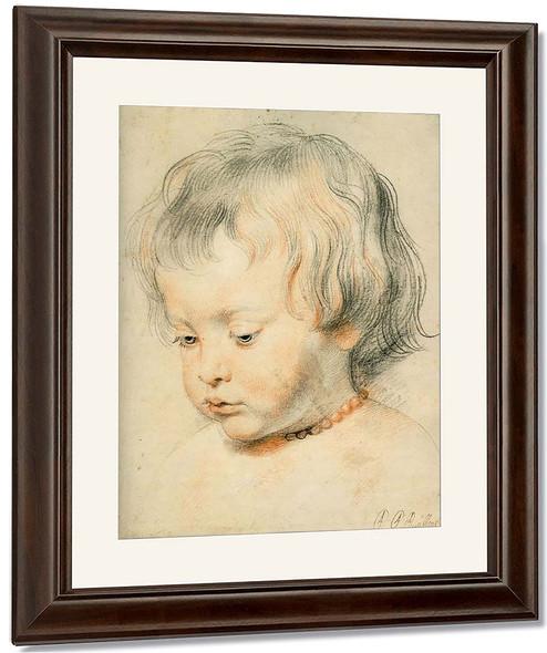 Nicolas Rubens By Peter Paul Rubens By Peter Paul Rubens