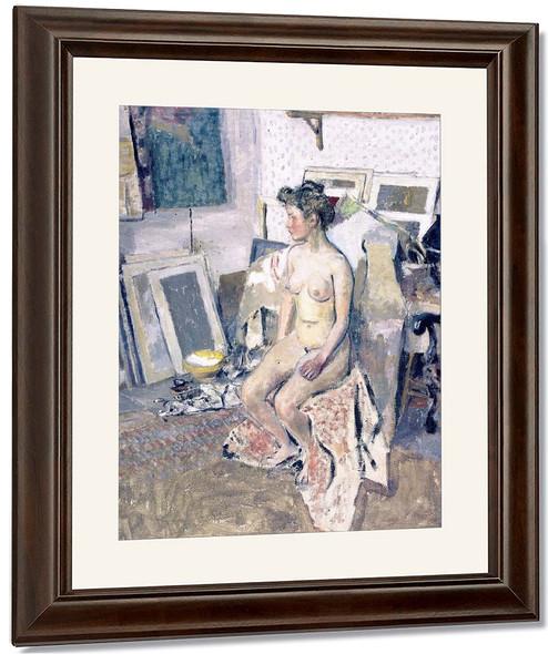 Nude In The Studio By Edouard Vuillard
