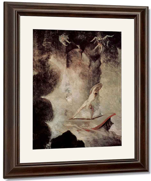 Odysseus In Front Of Scylla And Charybdis By Henry Fuseli By Henry Fuseli