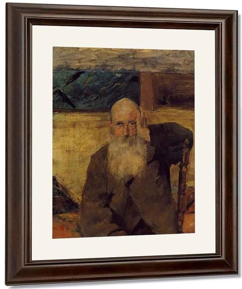 Old Man At Celeyran By Henri De Toulouse Lautrec