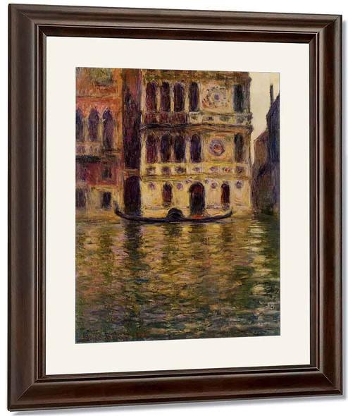 Palazzo Dario By Claude Oscar Monet