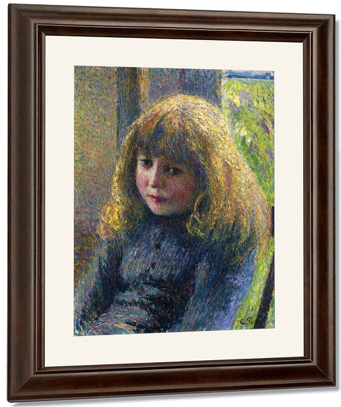 Paul Emile Pissarro By Camille Pissarro By Camille Pissarro