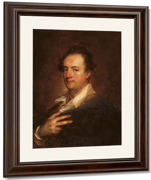 Portrait Of A Gentleman By Jean Honore Fragonard By Jean Honore Fragonard