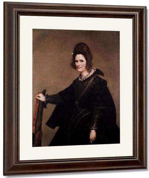 Portrait Of A Lady By Diego Velazquez