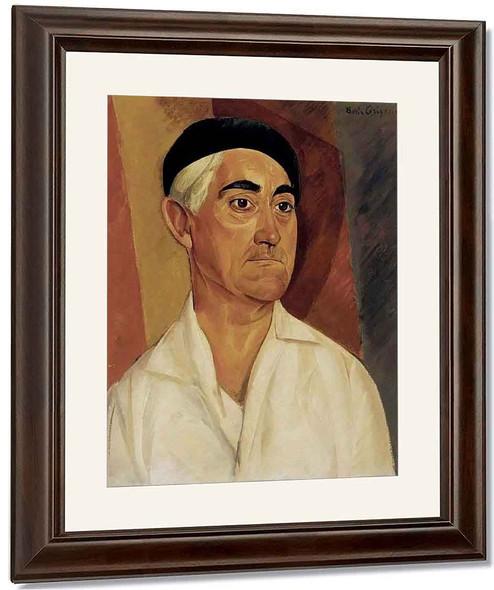 Portrait Of A Man By Boris Grigoriev