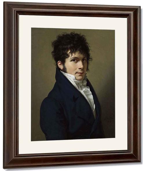 Portrait Of A Man By Francois Xavier Fabre