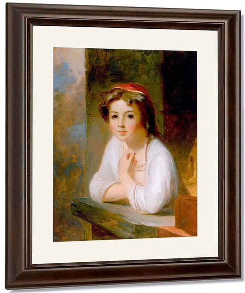 Portrait Of A Peasant Woman By Thomas Sully