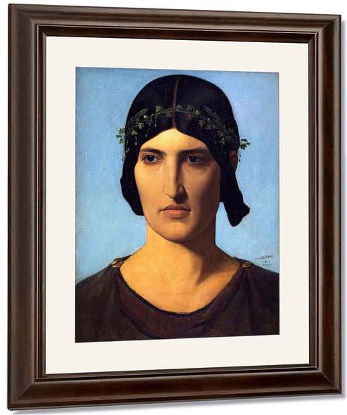 Portrait Of A Roman Woman By Jean Leon Gerome By Jean Leon Gerome