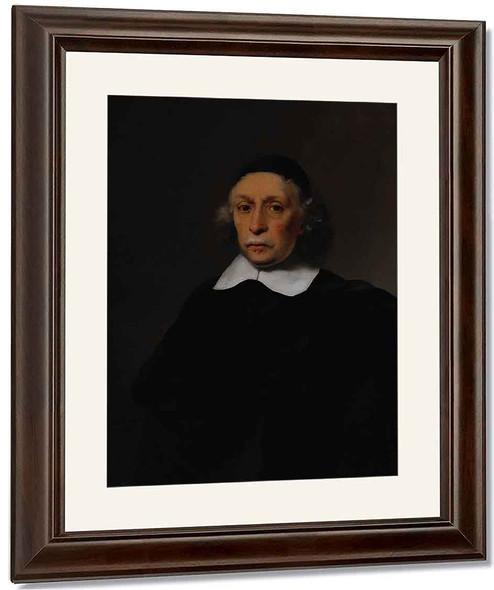Portrait Of A Scholar1 By Ferdinand Bol
