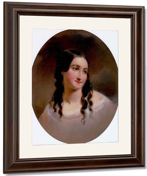 Portrait Of A Woman, Sarah Byerly By Thomas Sully