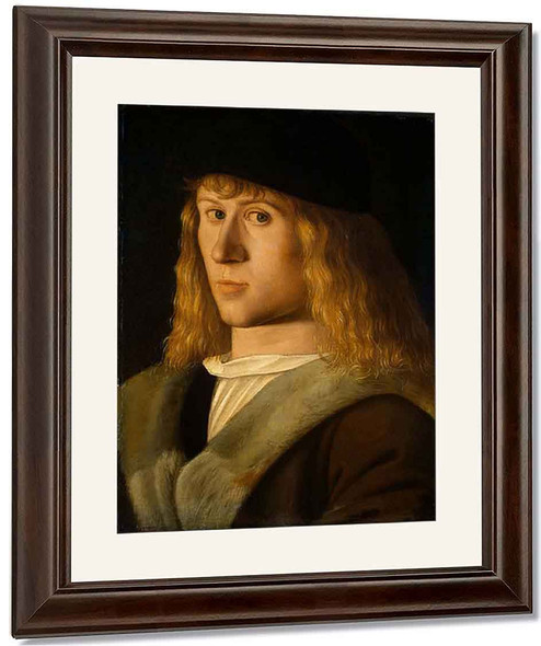Portrait Of A Young Man, By Jacopo Barbari By Jacopo Barbari