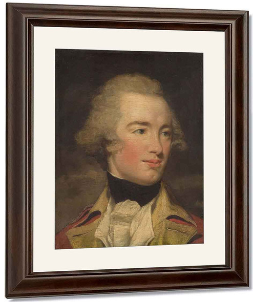 Portrait Of An Officer By John Hoppner