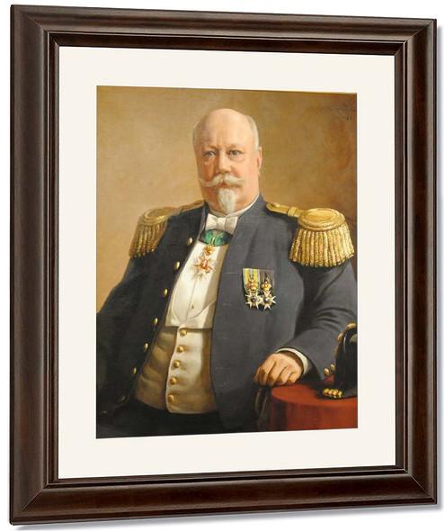 Portrait Of Anton Ridderstad2 By Johan Krouthen By Johan Krouthen