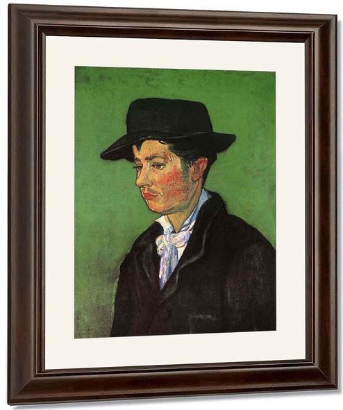 Portrait Of Armand Roulin By Jose Maria Velasco
