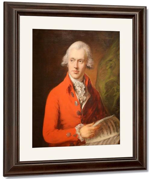 Portrait Of Charles Rousseau Burney By Thomas Gainsborough By Thomas Gainsborough