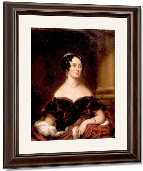 Portrait Of Clarissa Gaylord Ranney By William Tylee Ranney