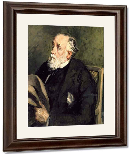 Portrait Of Degas By Jacques Emile Blanche By Jacques Emile Blanche